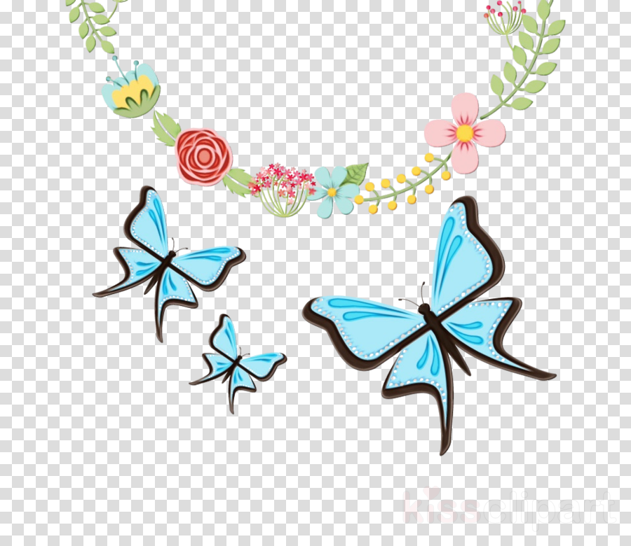 turquoise body jewelry jewellery butterfly turquoise clipart.