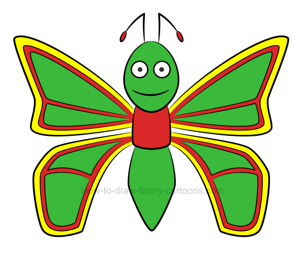 Butterfly body clipart 6 » Clipart Station.