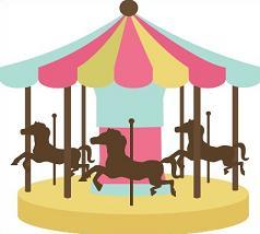 Freel Carousel Clipart.
