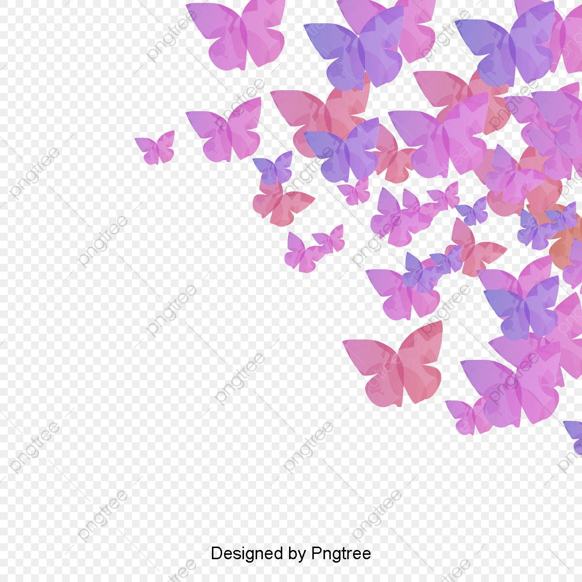 Creative Butterfly Background, Butterfly Clipart, Background Clipart.