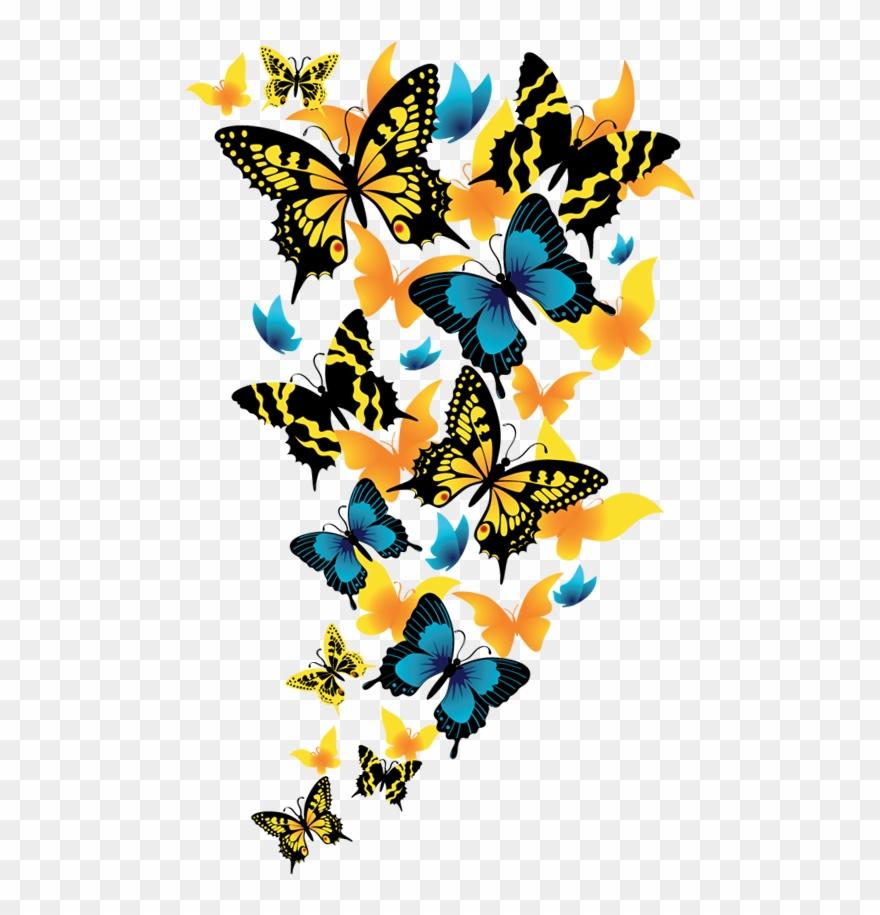 Rainbow Butterfly Clipart Clip Art.