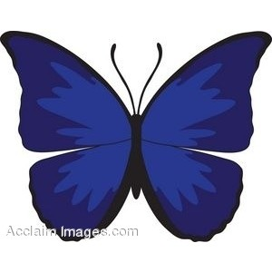 Blue Butterfly Clipart & Blue Butterfly Clip Art Images.