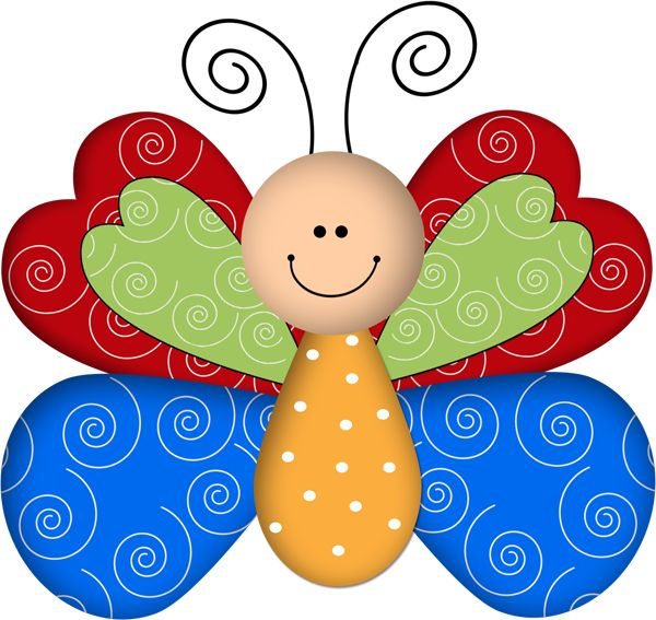 Butterfly Clipart For Kids at GetDrawings.com.