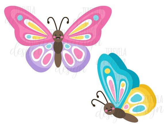 50% sale BUTTERFLIES clipart, butterfly clip art, SPRING.