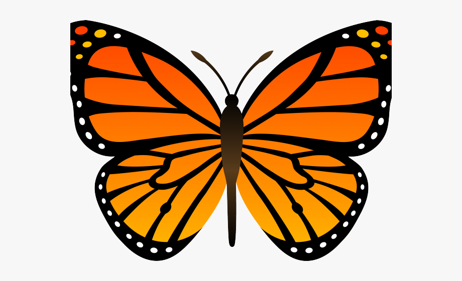 Monarch Butterfly Clipart Free Printable.