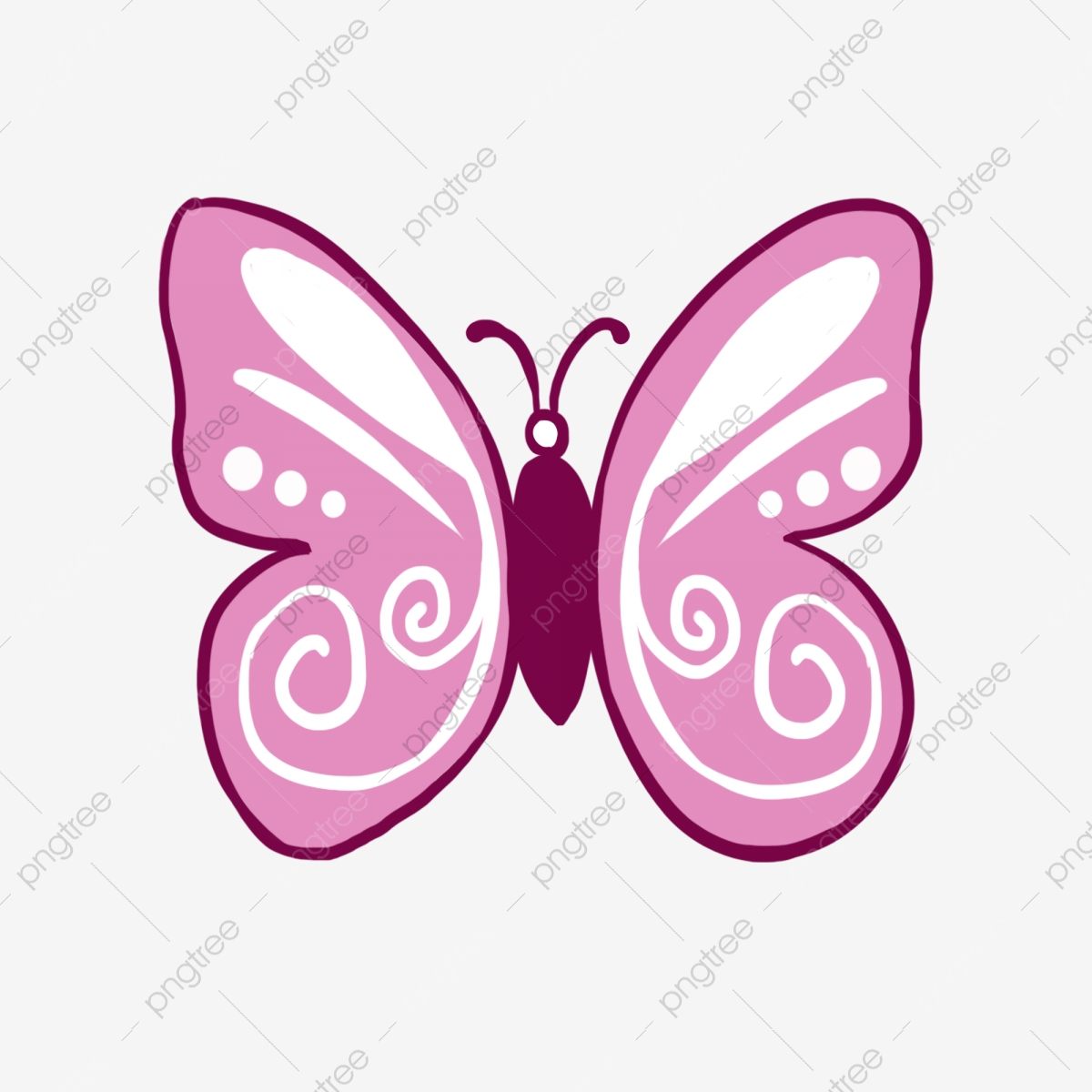 Pink Butterfly Fairy, Butterfly Clipart, Pink, Butterfly PNG.