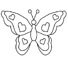 Top 50 Free Printable Butterfly Coloring Pages Online.