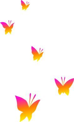 Butterfly Clipart, Purple Butterfly Clip Art, Butterfly.
