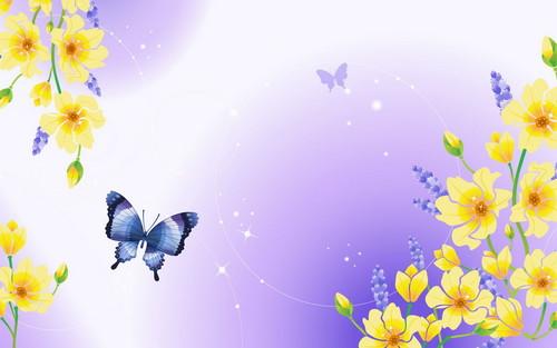 Windows 7 Vista & XP Picks images Butterfly Clipart HD wallpaper.
