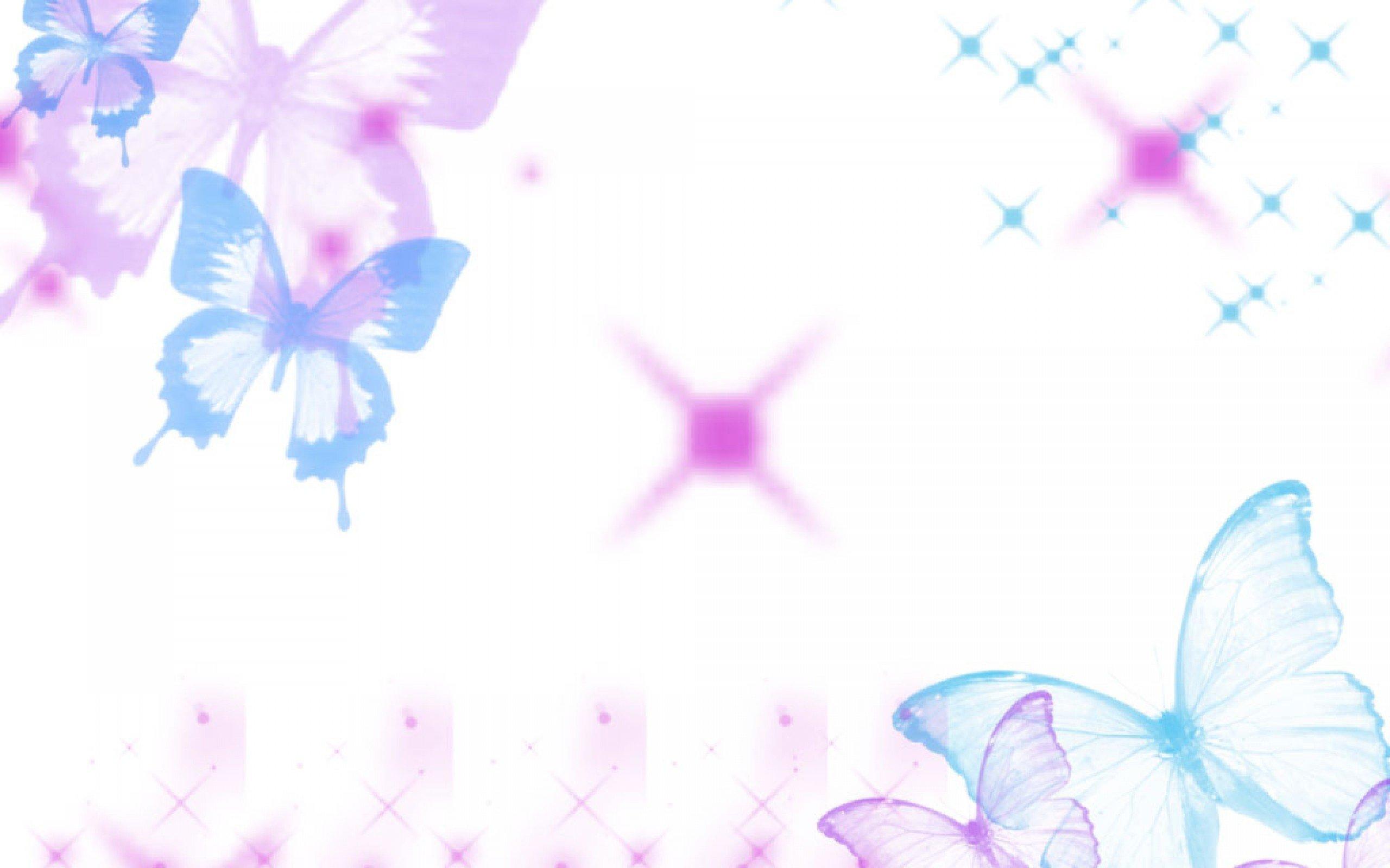 Cute purple butterfly backgrounds.