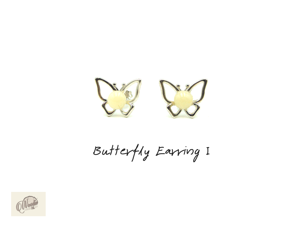 Butterfly Earring I.