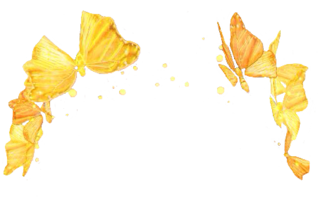 yellow butterfly butterflies yellowbutterfly crown yell.