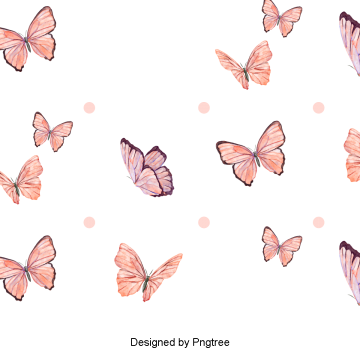 Cartoon Butterfly PNG Images.