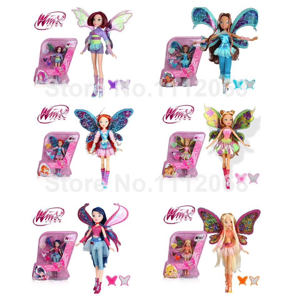 Popular Butterfly Dolls.