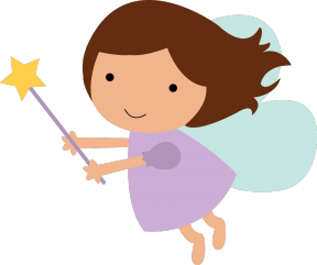 Butterfly Fairies Clipart.