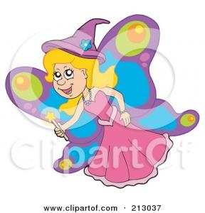 Butterfly Fairies Clipart.