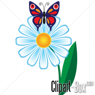 on flower clipart