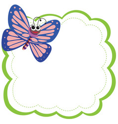 Butterfly Frame Clipart Vector Images (78).