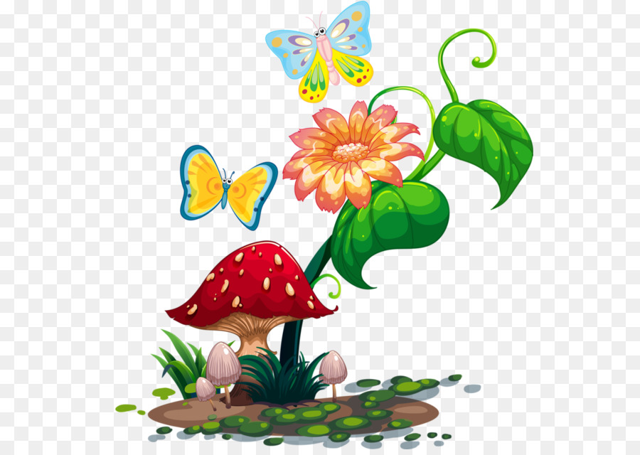Butterfly Royalty Free Clip Art Garden Clipart Png Download 600.