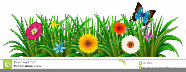 Butterfly Garden Clipart Free Images At Clker Com Vector Clip Detail.