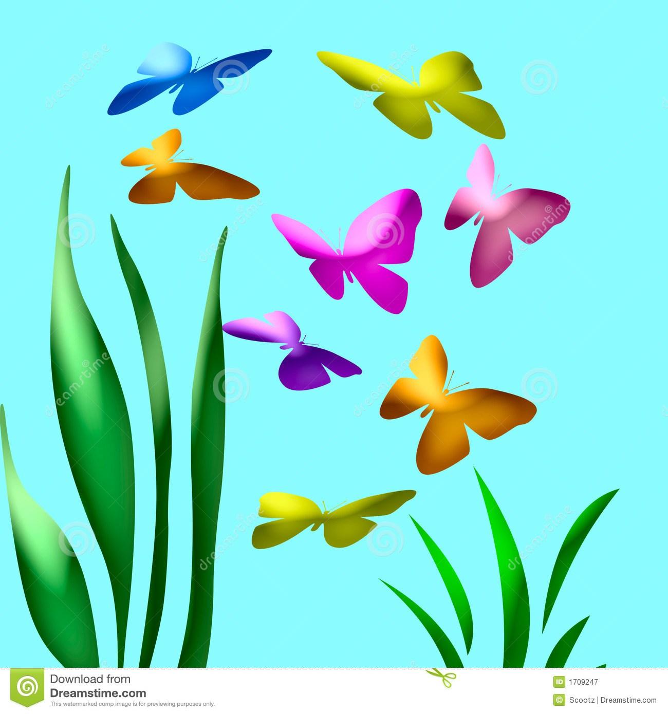 Butterfly in garden clipart 7 » Clipart Portal.
