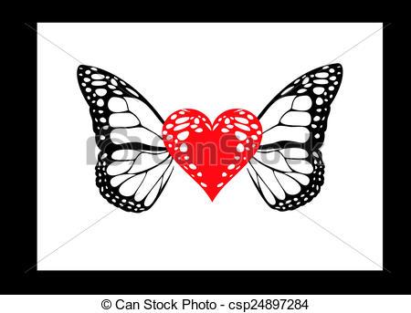 butterfly heart.