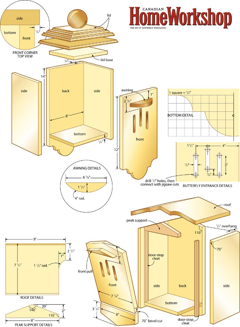 butterfly house plans.