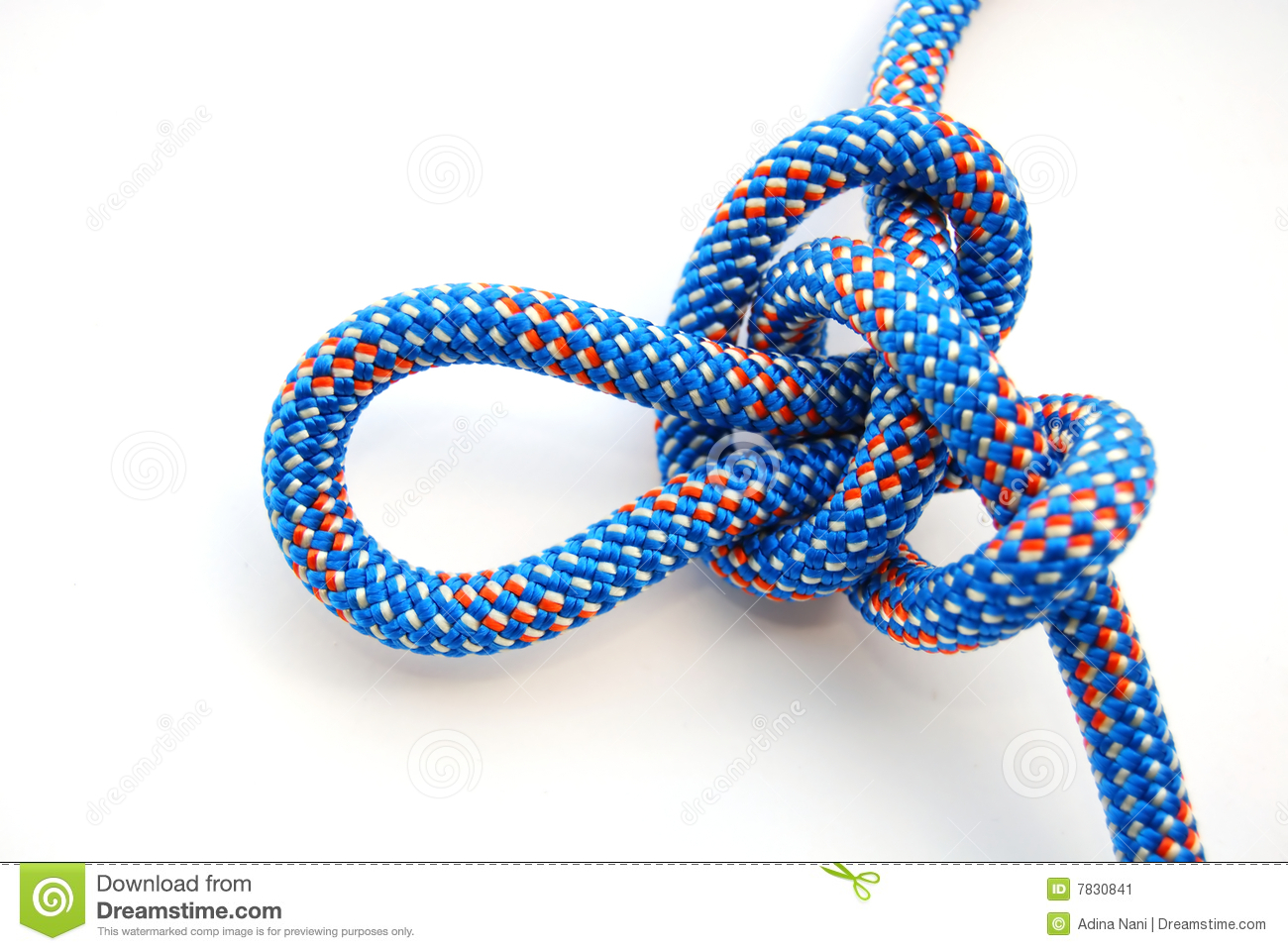 Alpine Butterfly Knot Stock Image.