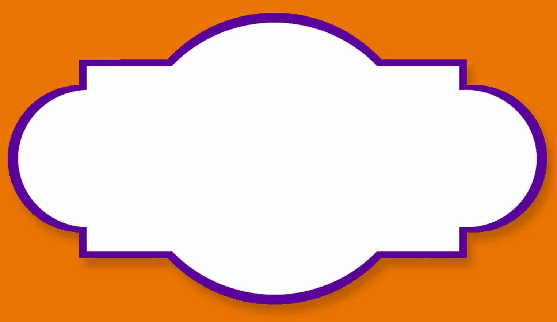 Label Templates.purple Butterfly Border Clipart Purple Border.