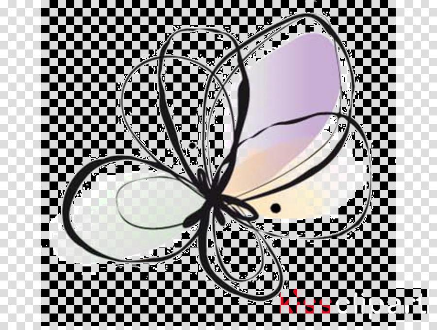 butterfly clip art moths and butterflies line art pollinator.