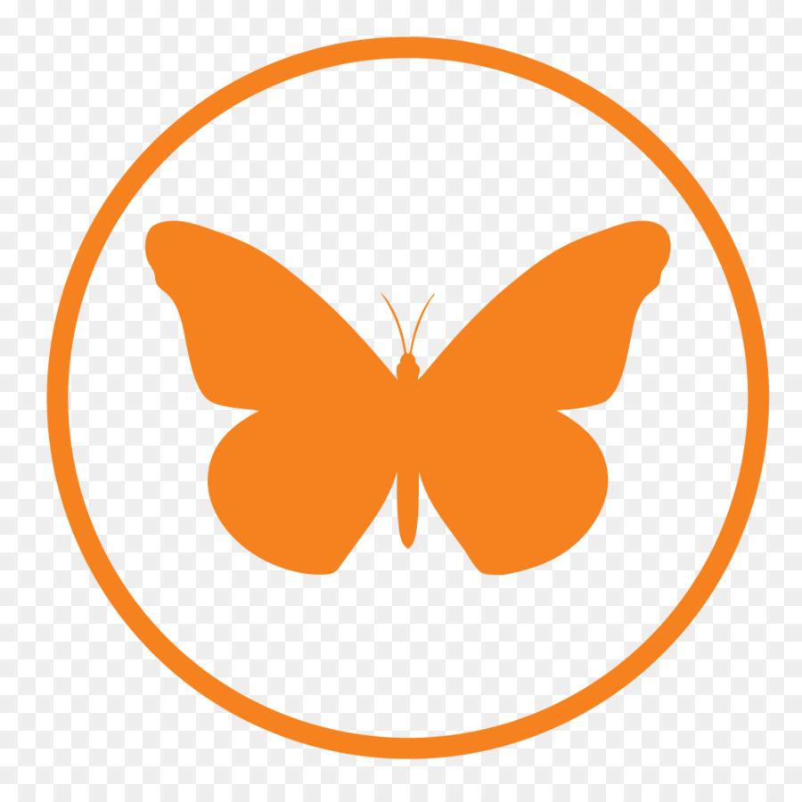 Butterfly Logo clipart.