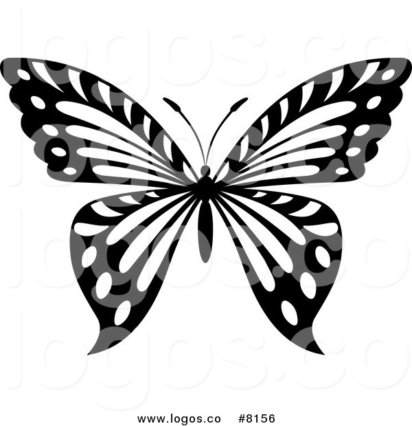 Butterfly Clipart Logo.