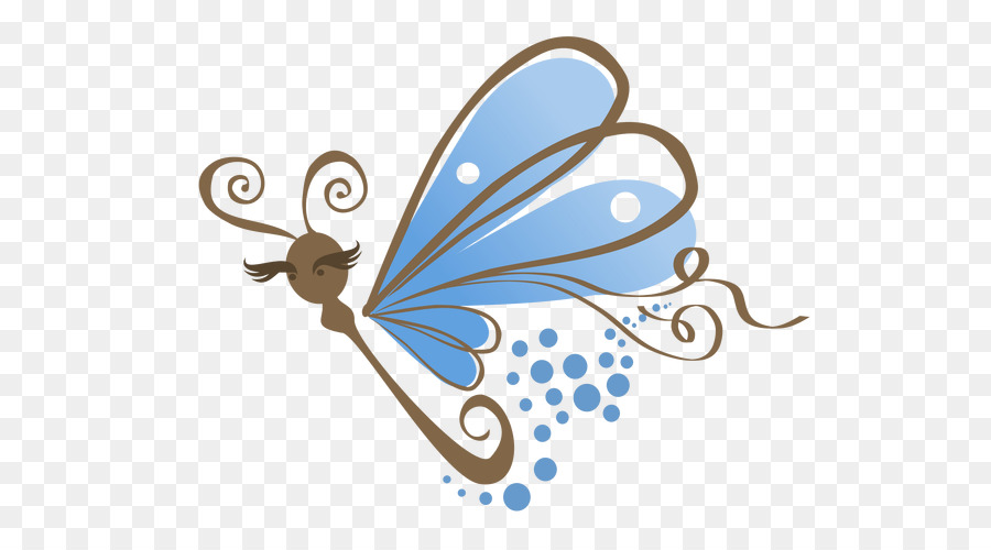 Butterfly Logo clipart.