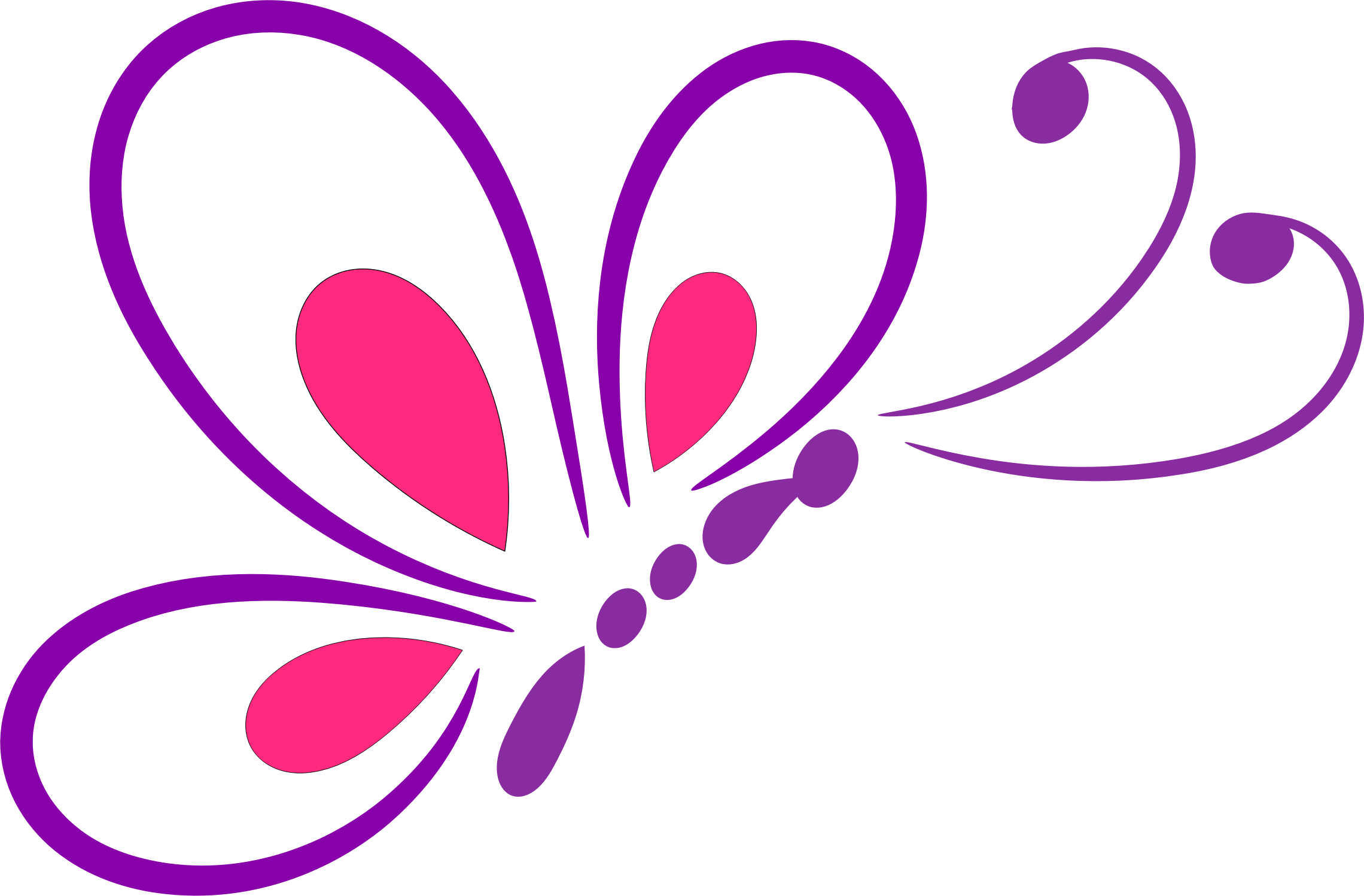 Logo clipart butterfly, Logo butterfly Transparent FREE for.