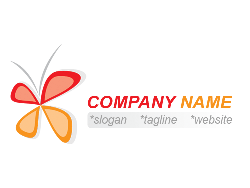 Free Butterfly Logo Template » iGraphic Logo.