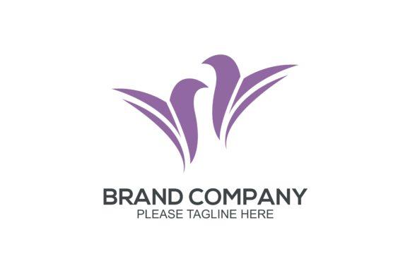 Bird & Butterfly Logo.