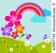 Meadow Clipart Illustrations. 27,677 meadow clip art vector EPS.