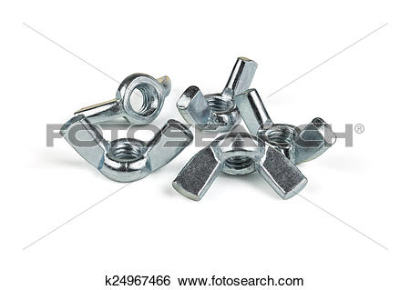 Stock Images of Wing nut k24967466.