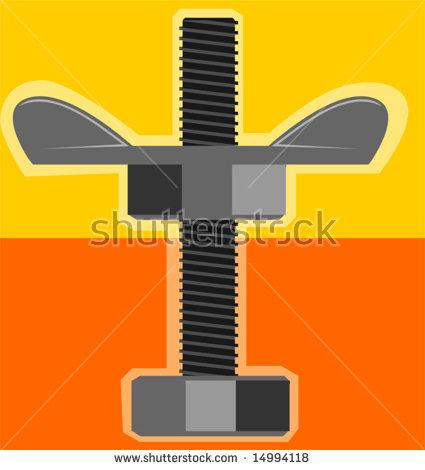 Wing Nut Stock Vectors & Vector Clip Art.