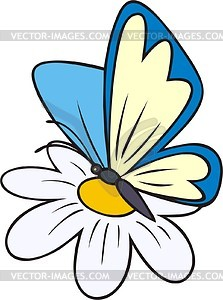 16431 Butterfly free clipart.