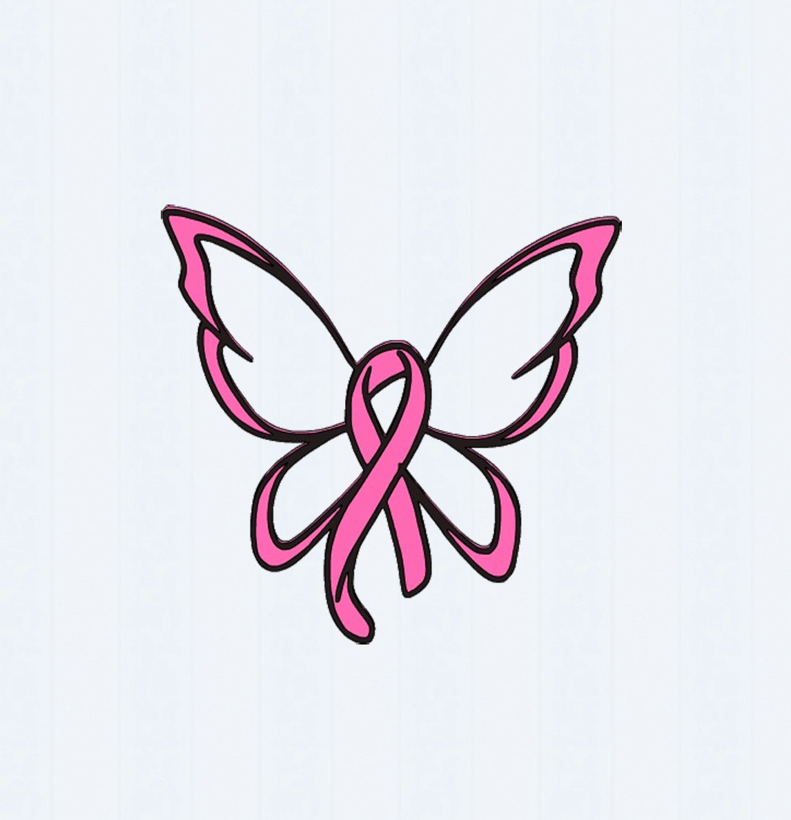 Butterfly on cancer ribbon clipart clipground similiar cancer ribbon butterfly keywords biocorpaavc Gallery