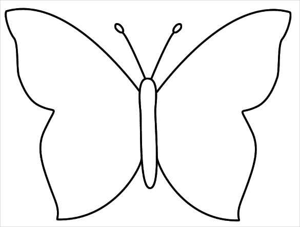 28+ Butterfly Templates.
