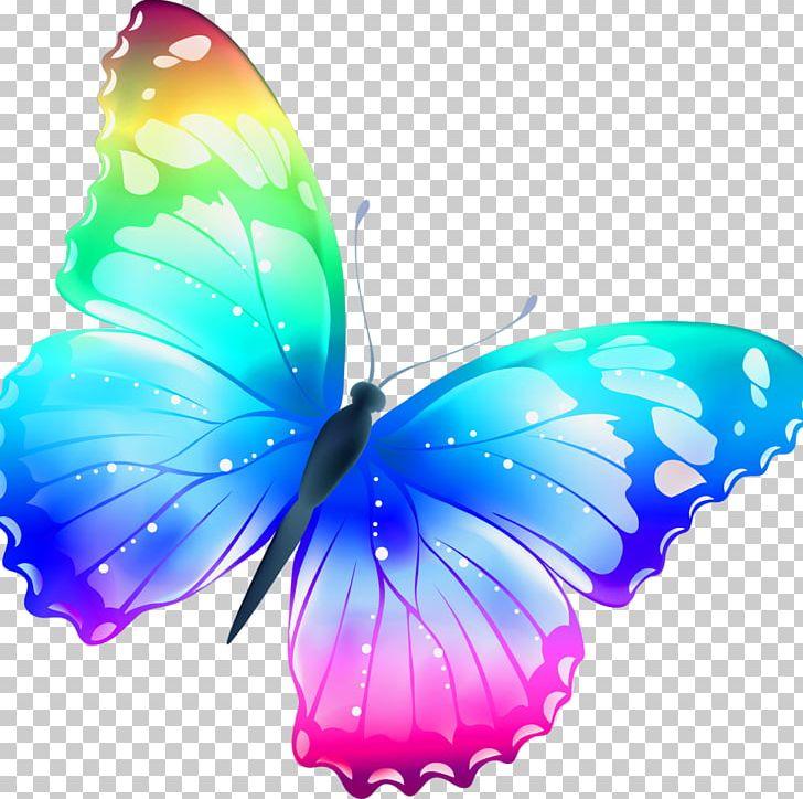 Butterfly Color PNG, Clipart, 3d Computer Graphics, Aqua, Blue.