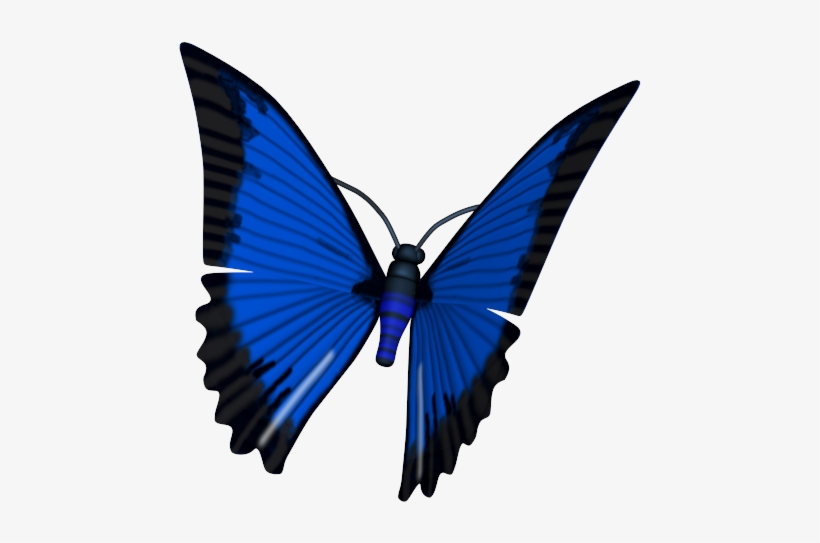 3d Butterfly Png.