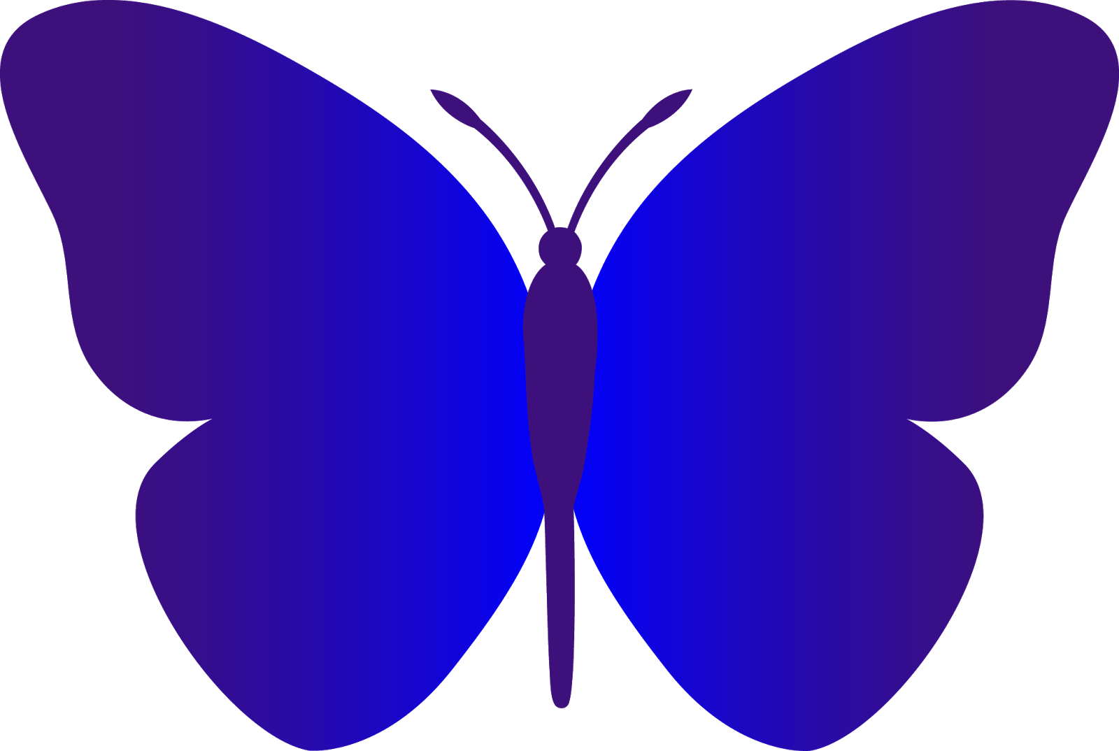 Shapes clipart butterfly, Shapes butterfly Transparent FREE.