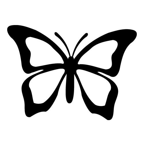 Free Butterfly Silhouette, Download Free Clip Art, Free Clip.