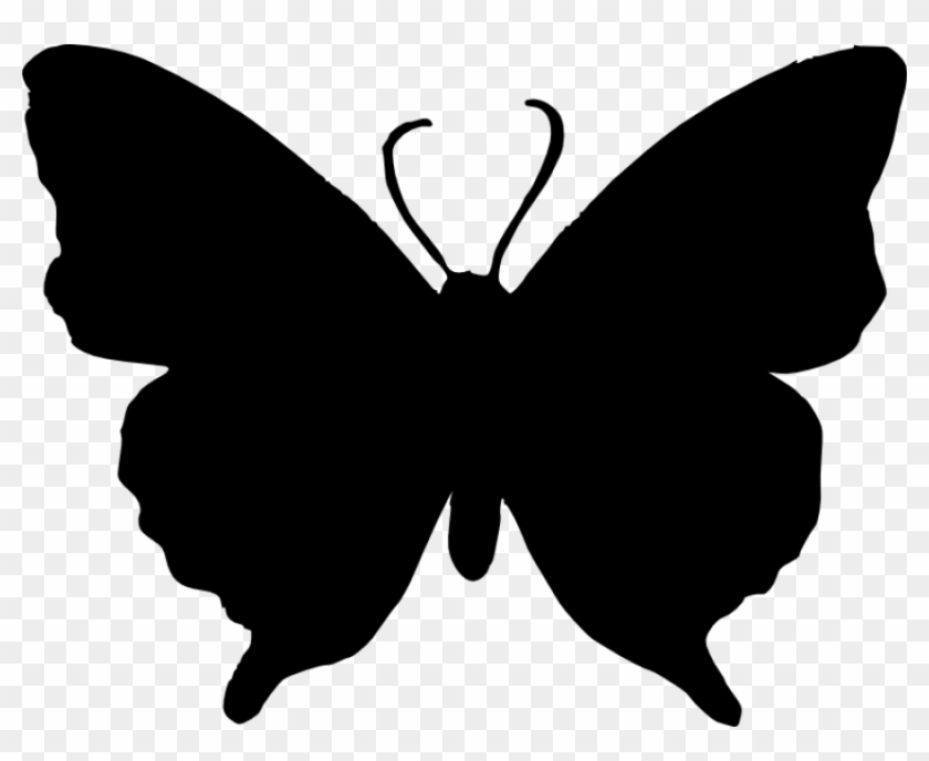 Free Png Butterfly Silhouette Png.
