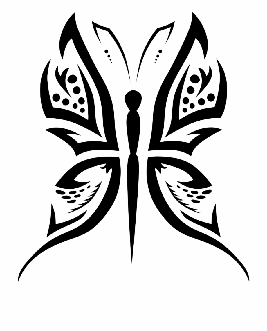 Butterfly Tattoo Designs Png Picture.