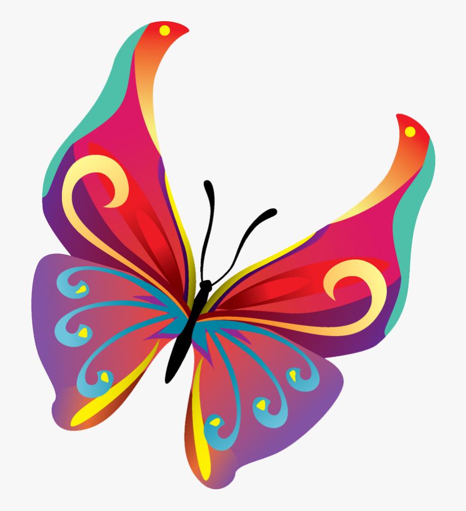 Butterflies Vector Png Pic.