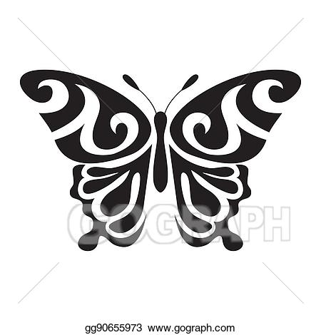 butterfly vector clipart #12